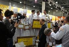 Gemlux наградил победителей Всероссийского открытого кулинарного чемпионата Chef a la Russe 2018